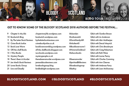 Bloody Scotland blog tour 2018