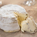 Black truffle triple creme cheese
