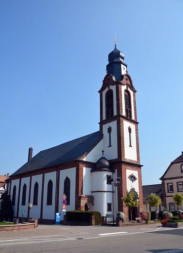 Kirche St. Peter und Paul in Soultz-sous-Forêts
