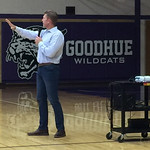 Goodhue Public Schools Student Assembly-Goodhue, Minnesota