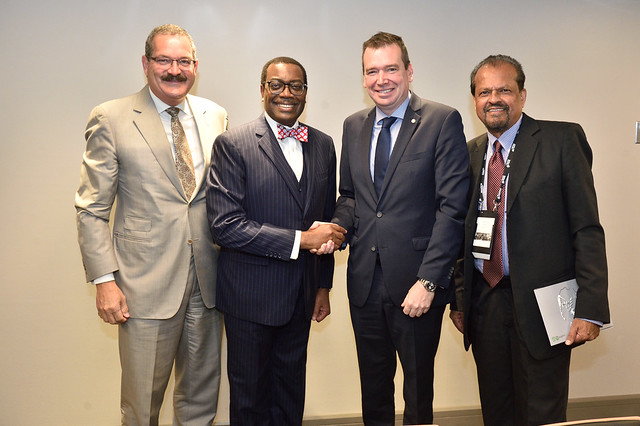 African Development Bank President's mission to Canada, Day 1