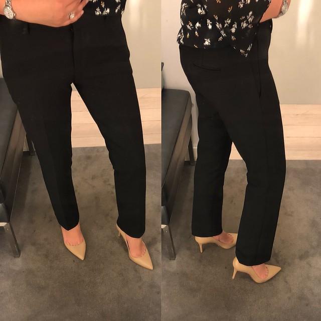 Ann Taylor The Straight Leg Pant, size 0P