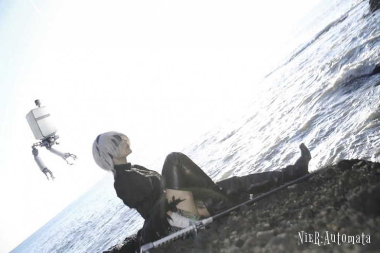 水手服美少女《九重はる》,完美扮演FGO玉藻前让人大饱眼福!