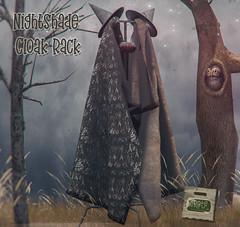 crate Nightshade Cloak Rack