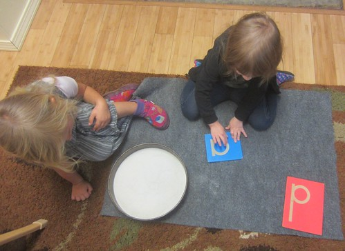 a and d letter work