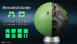 See What's Inside a Haro With This Figure-rise Mechanics Model Kit!