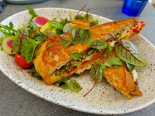 Gourmet Toastie at The Cardamom Pod Brickworks