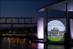 Multimedia-Show Bundestag