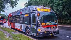 WMATA Metrobus 2014 NABI 42 BRT Hybrid #8087
