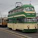 Blackpool heritage trams 717 & 40