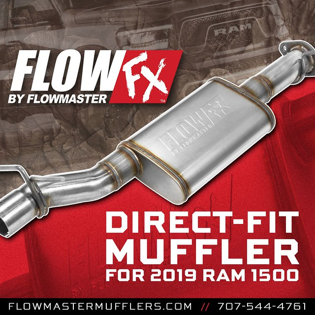 Flowmaster FlowFX Direct-fit Muffler for 2019 RAM 1500 with