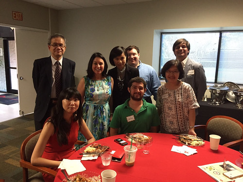 HTS - St. Thomas University welcome dinner for Taiwan University Students - July 18, 2017