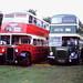 Preserved Manchester 2150 (JND 791), Salford 112 (TRJ 112)