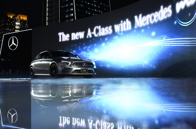 限量30台的The new A-Class Edition 1將採限量限時預購,於9月1日中午12點線上正式開賣,建議售價為新台幣224.6萬元。