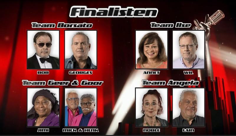 Finalisten Voice Senior