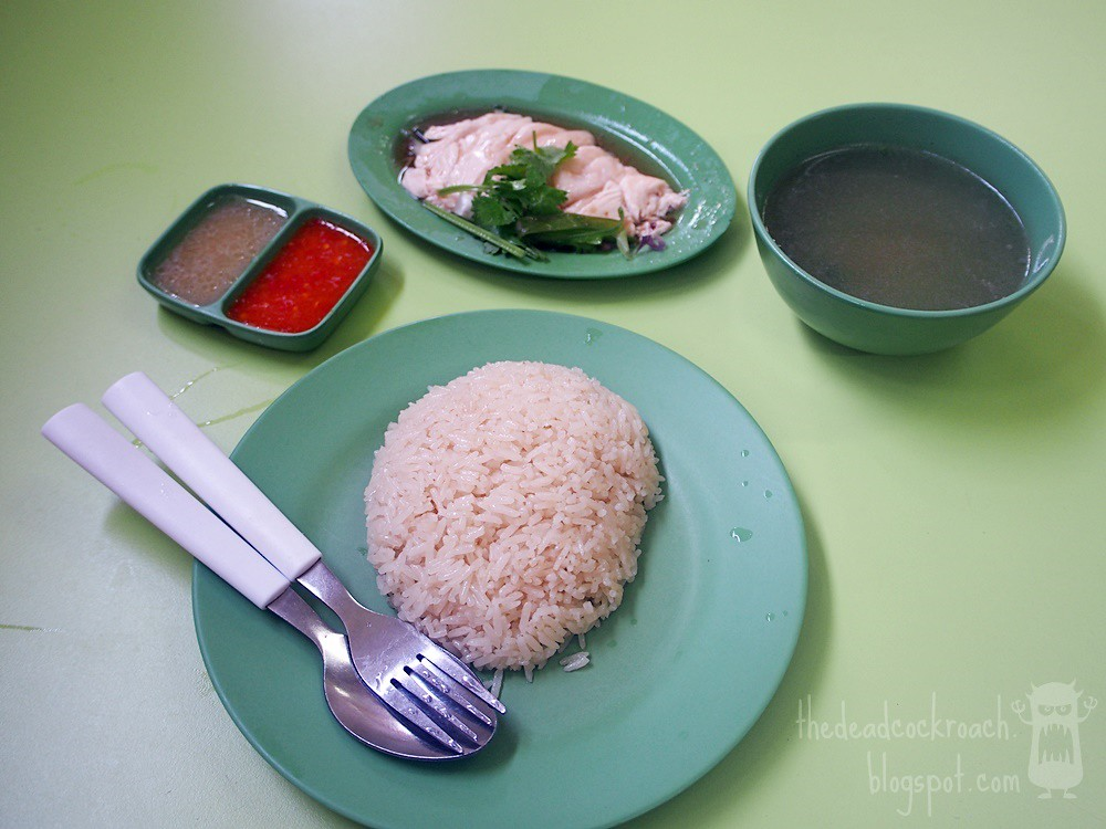 hainanese boneless chicken rice, 海南起骨雞飯,food review,food,review,singapore, golden mile, golden mile food centre, chicken rice,beach road,army market