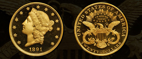 1891 Proof Double Eagle