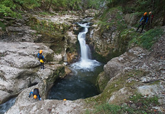Gorges de Malvaux, vers Les Planches en Montagne, Jura