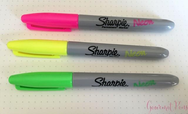 Sharpie Neon Markers @JetPens 4