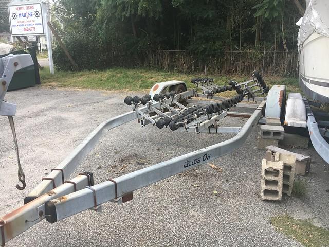 64 roller glide on boat trailer
