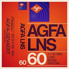 Cassettes: Agfa LNS 60