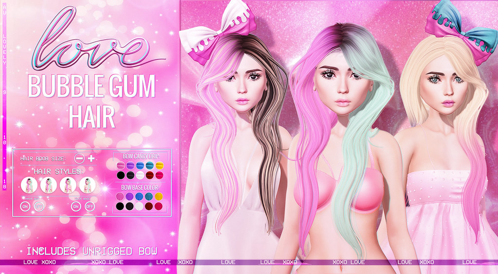 Love [Bubble Gum Hair] @ Au Lovely!