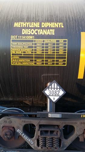 Chemical Car Labels