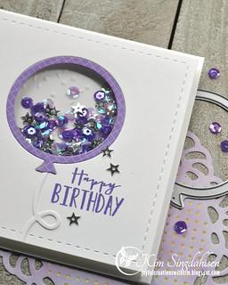 AAA Purple Balloon flat