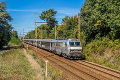 22 septembre 2018 BB 26049  Train 4020 Bordeaux -> Paris-Austerlitz Vayres (33) - Photo of Lugon-et-l'Île-du-Carnay