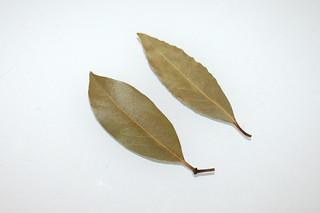 11 - Zutat Lorbeerblätter / Ingredient bay leafs