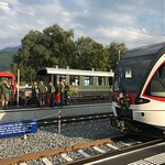 2018.09 Einweihung Bahnhof Alpnachstad