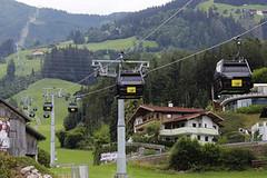 Spieljochbahn – nejstarší jednolanovou kabinku v Rakousku nahradila moderní desetikabinka