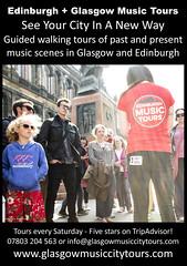 Glasgow + Edinburgh Music Tours
