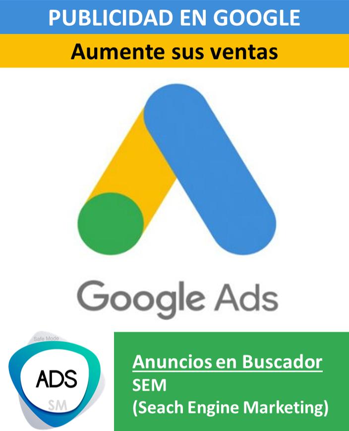 SEM – Publicidad en Google intermedia