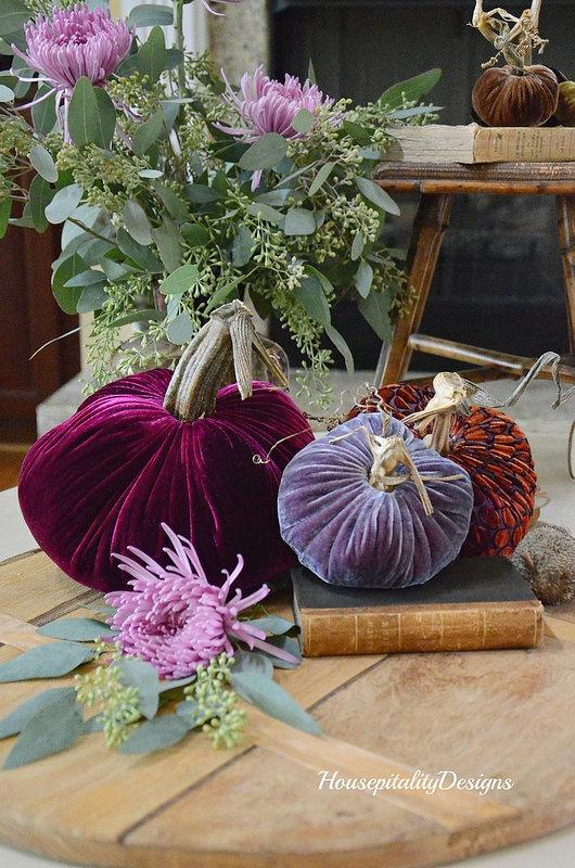 Velvet Pumpkins-Housepitality Designs