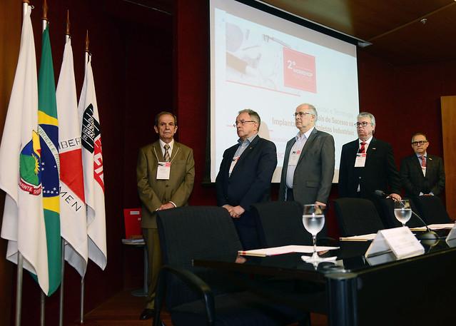 """2º Workshop Nacional """"Diferenciais de Sucesso na Implantação de Projetos Industriais"""""""