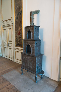 Antique heating stove