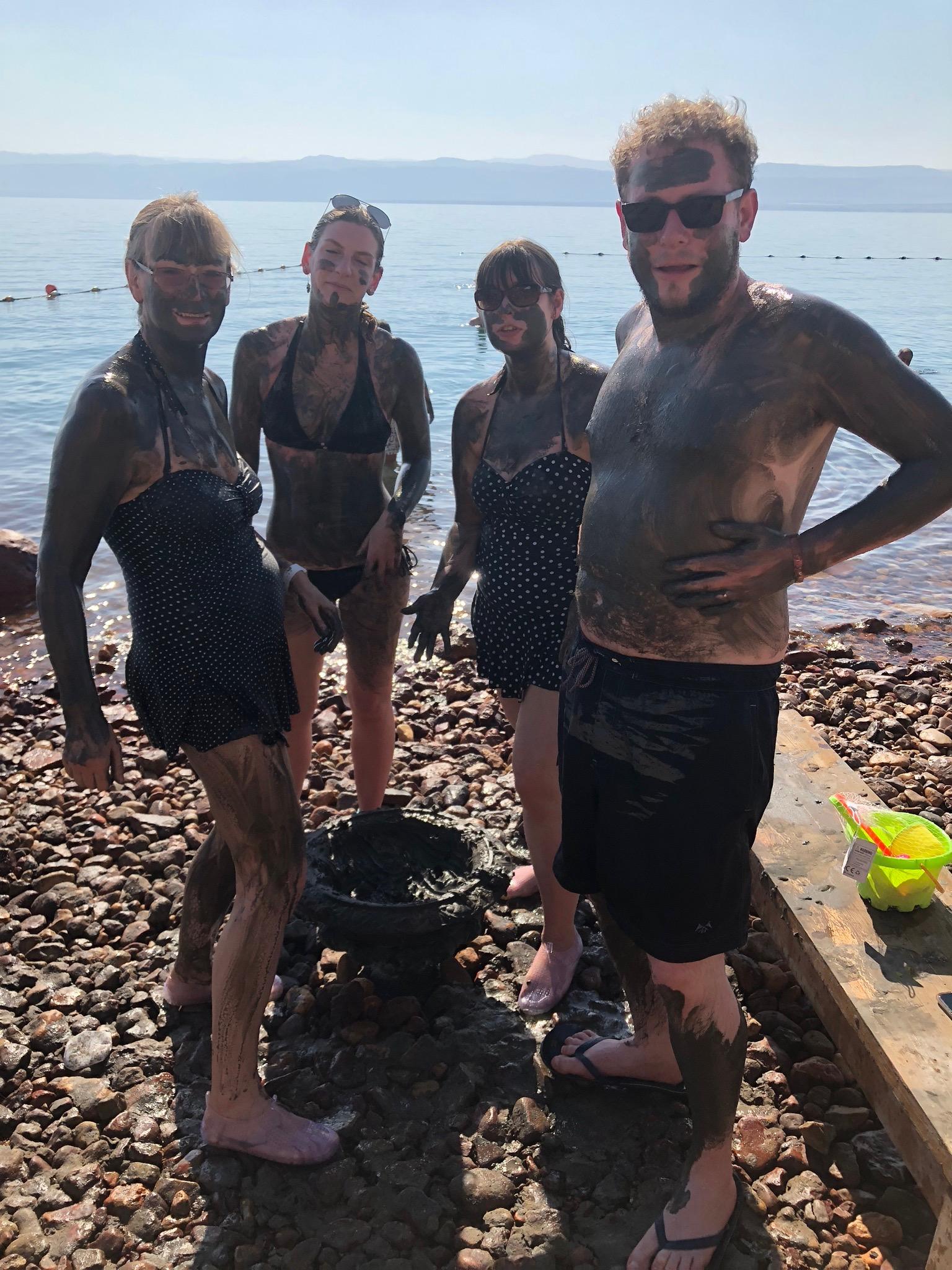 dead sea - mud
