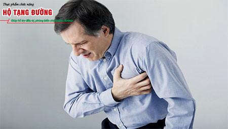 Đau thắt ngực do biến chứng tiểu đường tim mạch