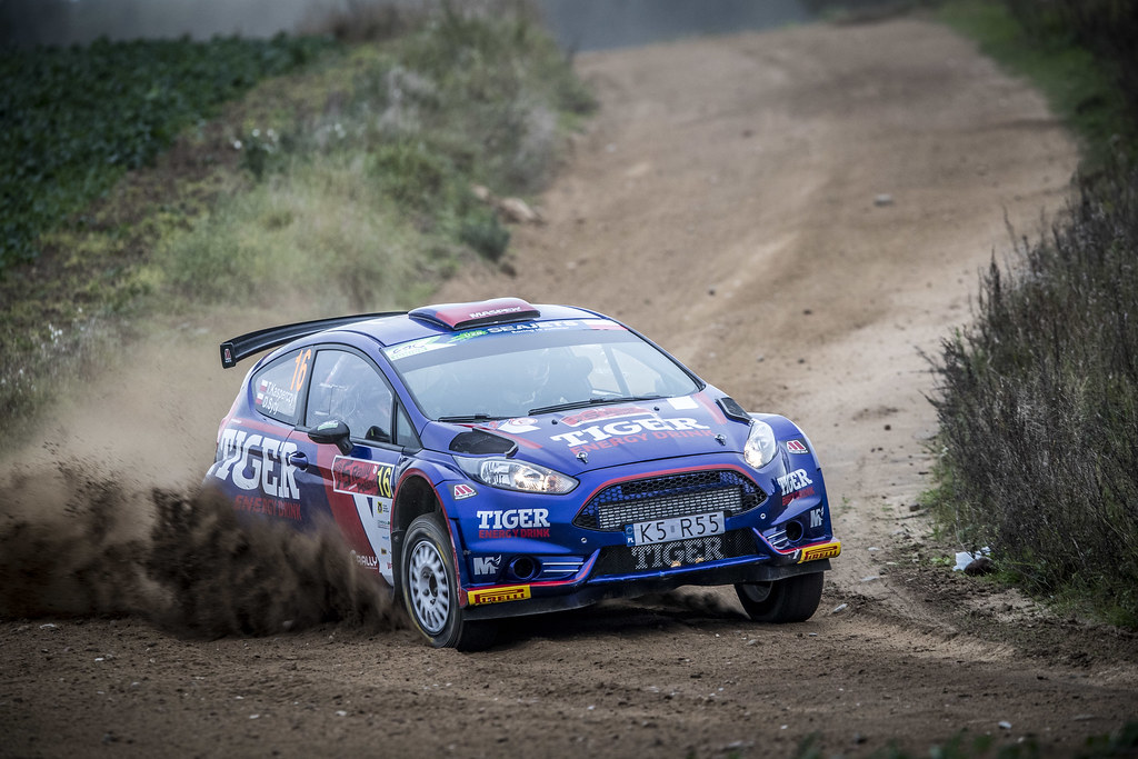 16 KASPERCZYK Tomasz (POL), SYTY Damian (POL), TIGER ENERGY DRINK RALLY TEAM, Ford Fiesta R5, action during the 2018 European Rally Championship PZM Rally Poland at Mikolajki from September  21 to 23 - Photo Gregory Lenormand / DPPI