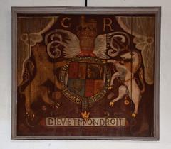 Charles I royal arms