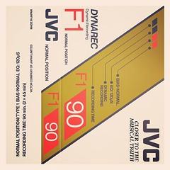 Cassettes: JVC Dynarec F1 C90
