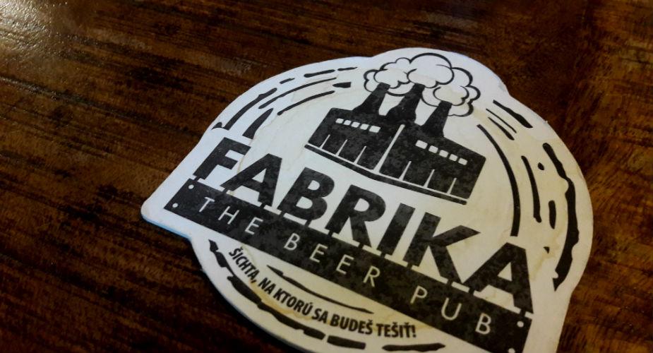 Uit eten in Bratislava, brouwerij Fabrika | Mooistestedentrips.nl