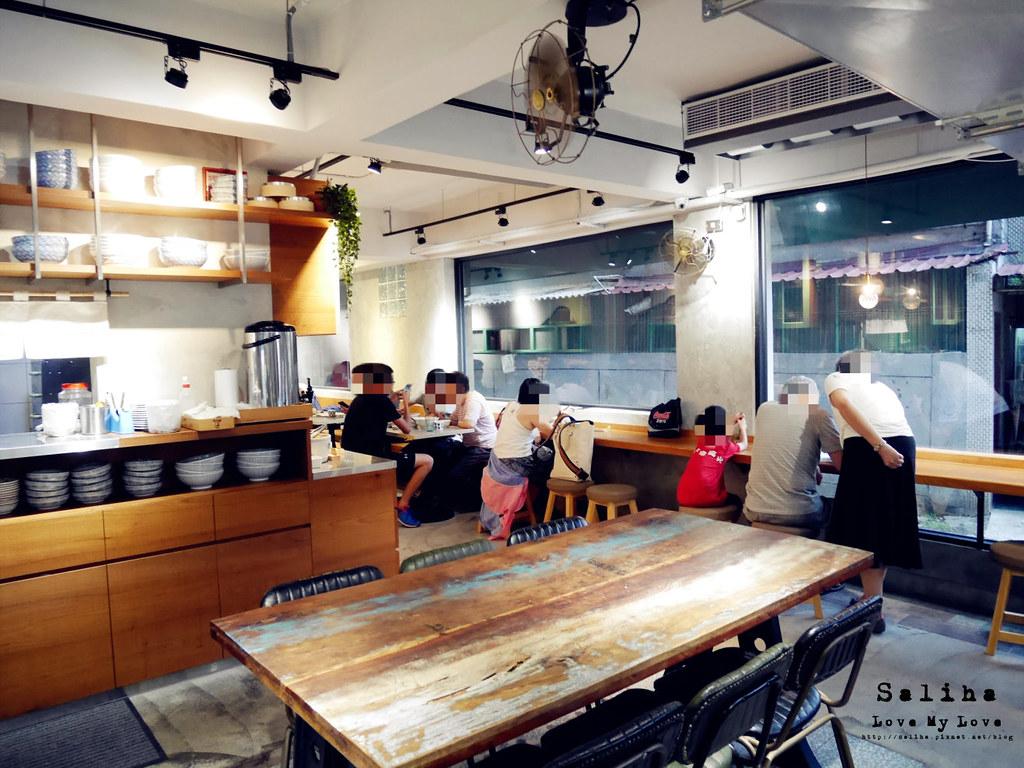 新北新店大坪林站附近餐廳麵店功夫豬 (3)