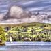 Lake Windermere from Wray Castle Shoreline