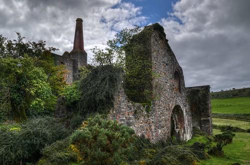 Ruins of a former tin & copper mine, Minions, Cornwall (Explored)