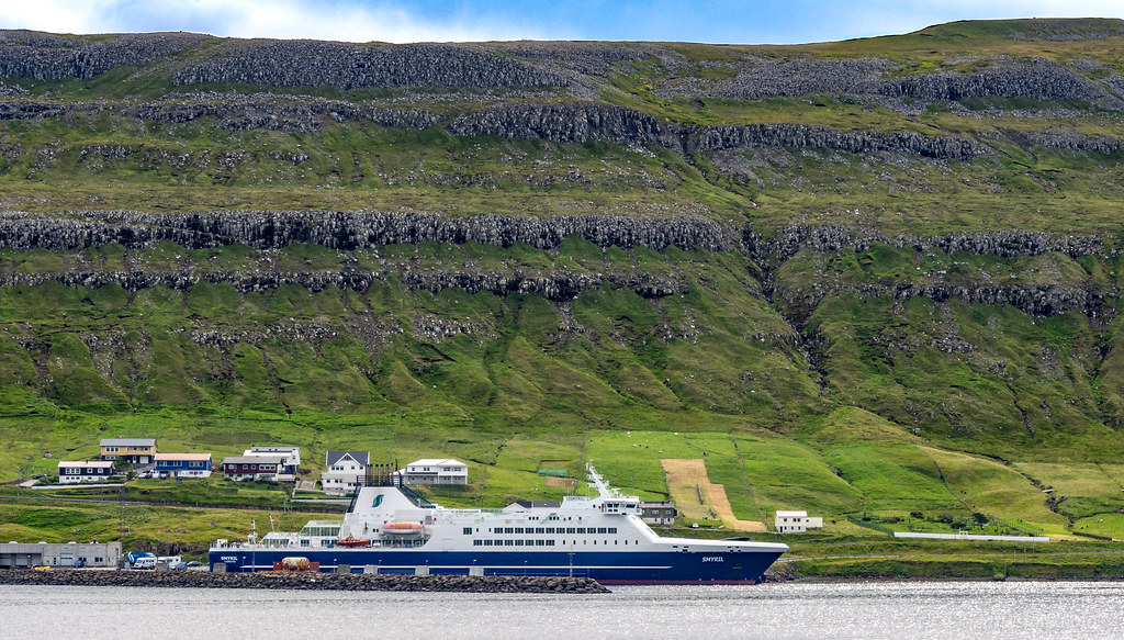 Faroes Island hopping with a car ferry Smyril
