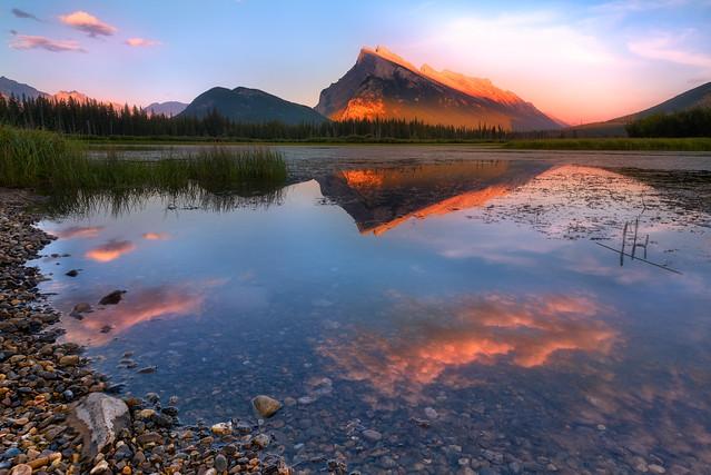 Vermilion Lakes Sunset | Banff National Park | Canada