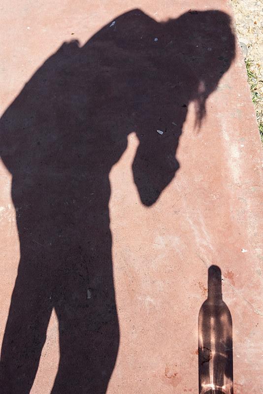 La sombra de la botella