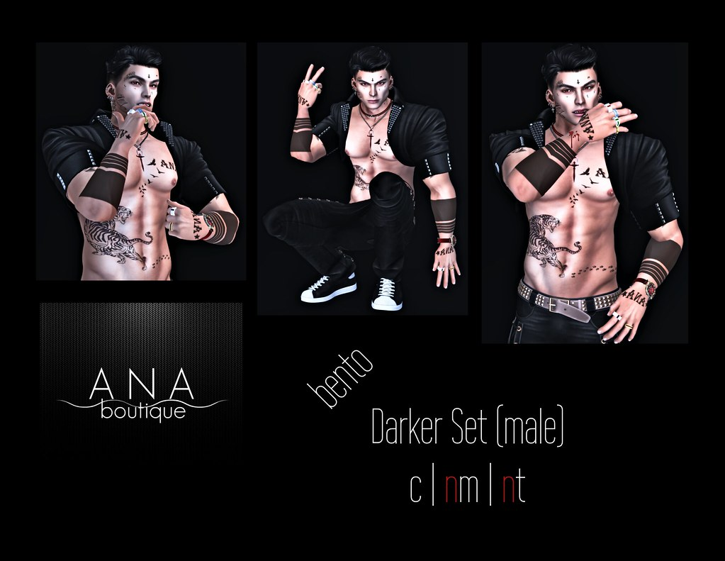NEW! Exclusive Darket Set @ The Darkness Event